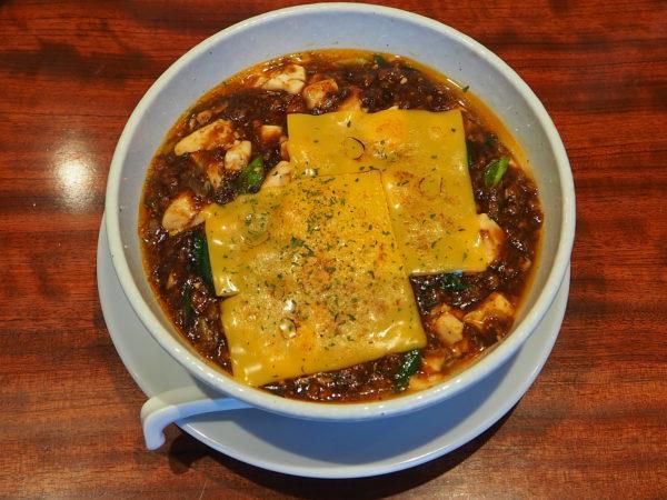 蝋燭屋 焼きチーズ麻婆麺