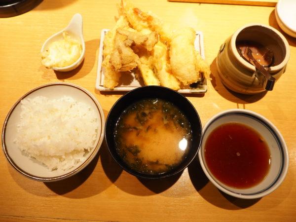 天ぷら まきの定食