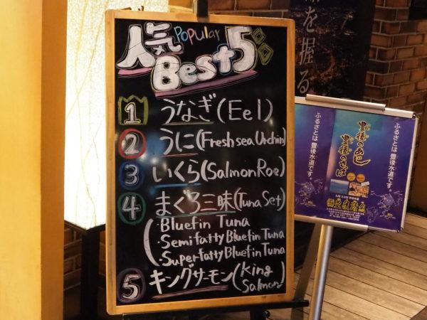 函太郎 人気ベスト5