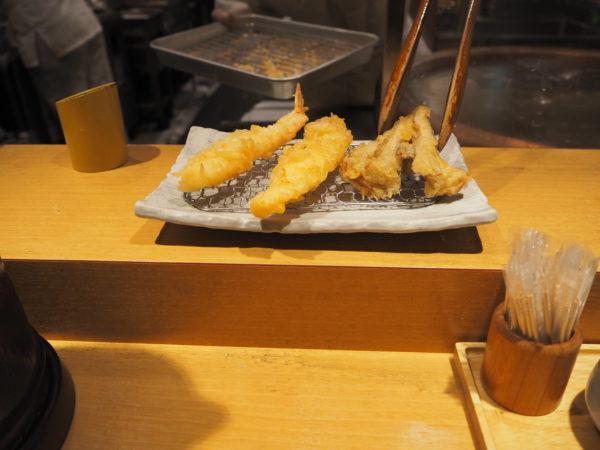 天ぷら まきの 揚げたて