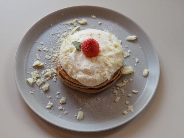 ホワイトショコラパンケーキ