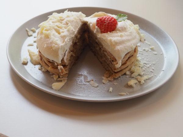 ホワイトショコラパンケーキ2
