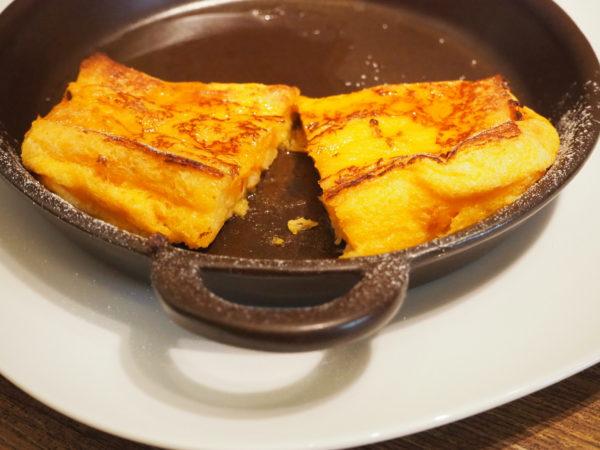 黄金フレンチトースト 断面