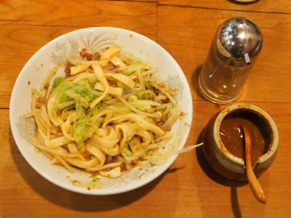 ジャジャ麺 薬味