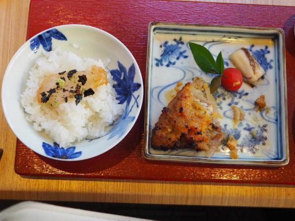 西京焼き 鯛刺身