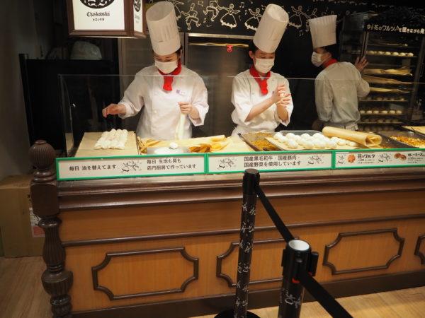 ピロシキ屋 オープンキッチン1