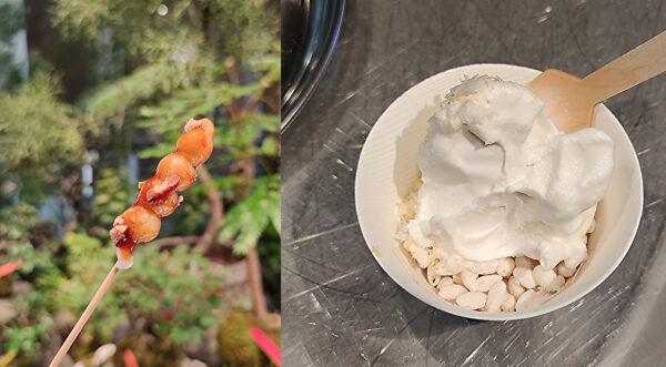 だんご ソフトクリーム
